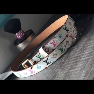 Authentic Louis Vuitton thin women's fashion belt